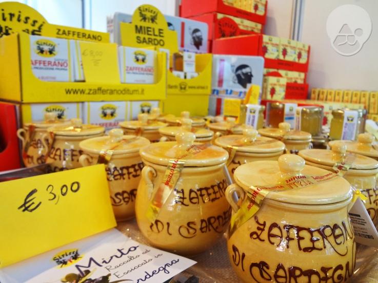 Azafrán, mieles y picante de Cerdeña