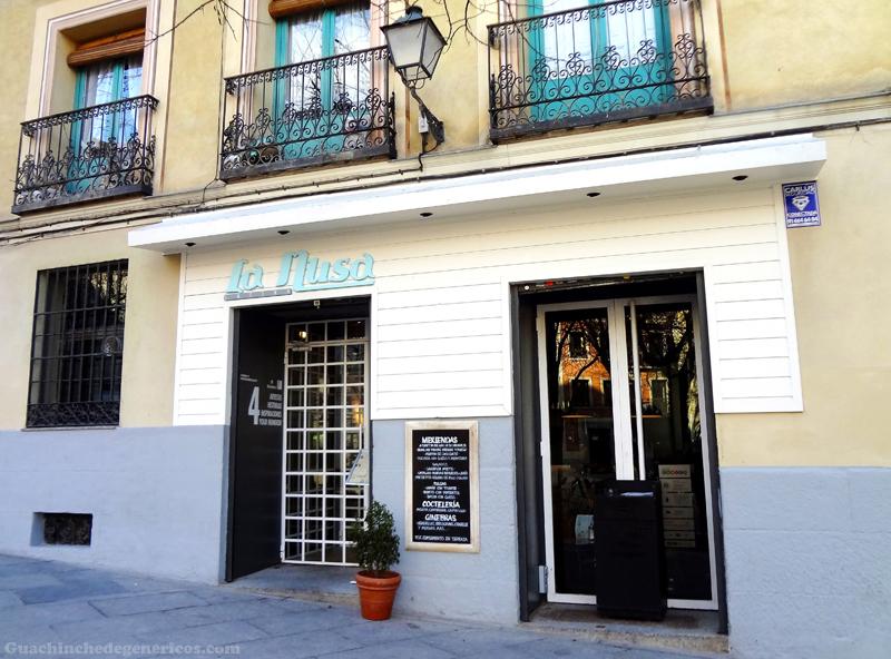 Men del d a en restaurante la musa latina madrid - La musa latina ...