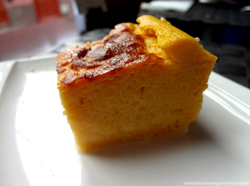 Pudin de calabaza - Restaurante Ambrosía