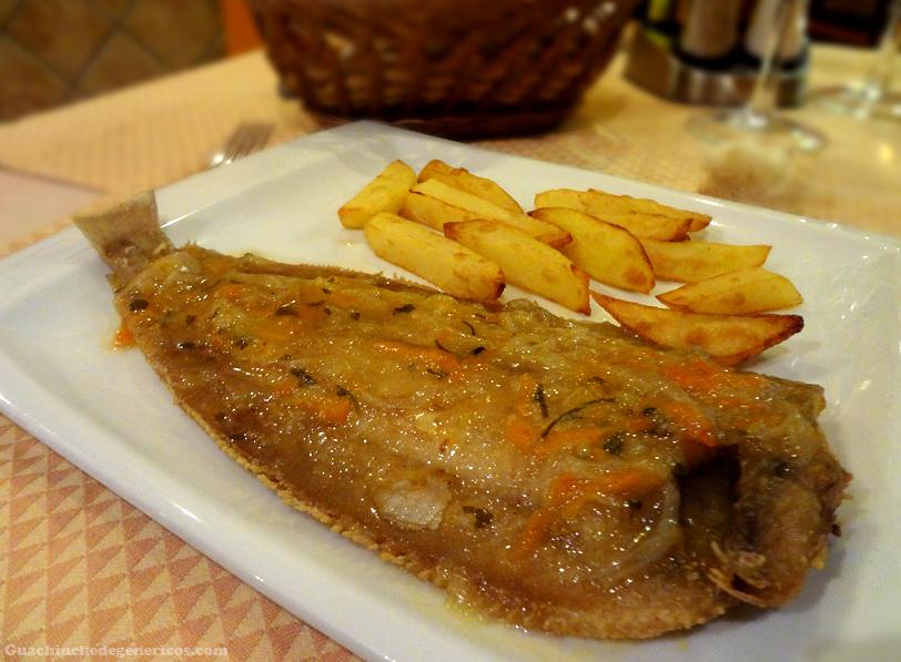 Pescado, Restaurante Donde Pablo en Madrid