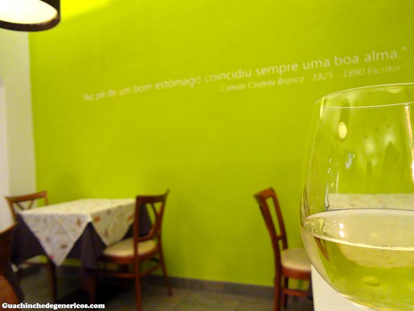 Restaurante portugués Alma Lusa, Madrid