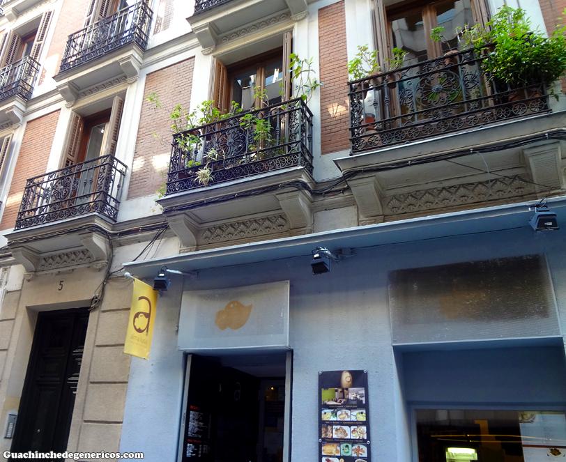 Restaurante portugués Alma Lusa en Madrid