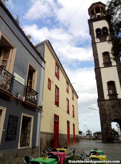 Restaurante La Concepción junto a la torre de la iglesia, Zona La Noria en Santa Cruz de Tenerife