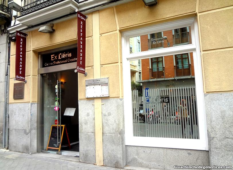 Restaurante Ex-Libris, Madrid