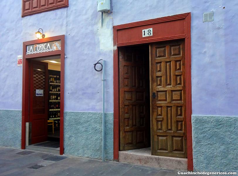Restaurante La Perica, San Cristobal de La Laguna (Tenerife)