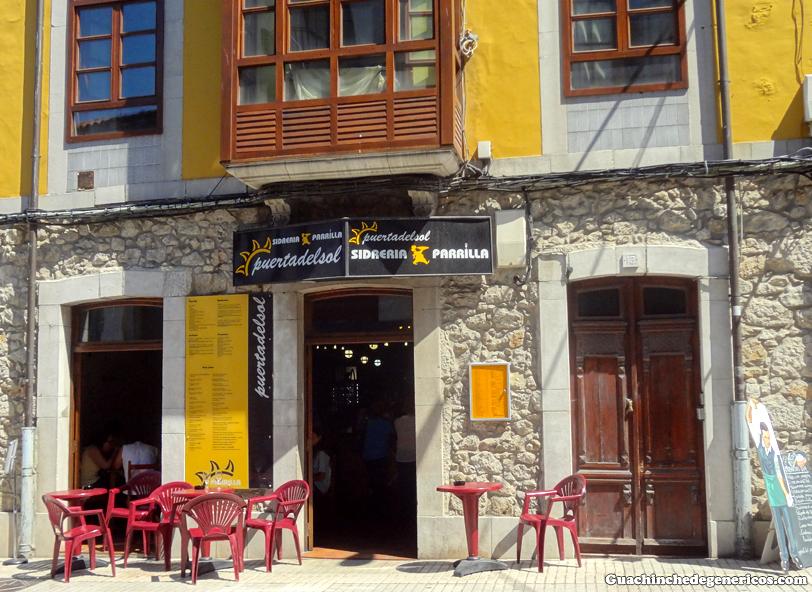 Restaurante sidrería Puerta del Sol. Llanes, Asturias