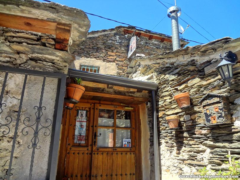 Exterior del restaurante La Fragua, Campillo de Ranas (Guadalajara)