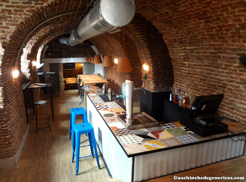 Cueva interior del restaurante Mr. Frank, Madrid